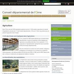 [Département de l'Orne] - Agriculture