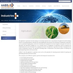GIS Application in Agriculture
