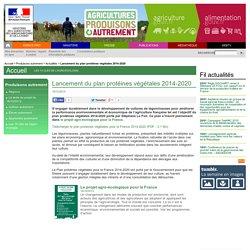 Lancement du plan protéines végétales 2014-2020
