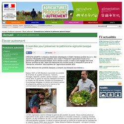 Ensemble pour préserver le patrimoine agricole basque