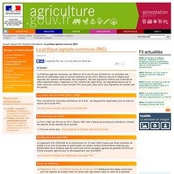 La politique agricole commune (PAC)