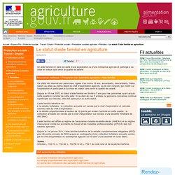 comment avoir le statut d exploitant agricole