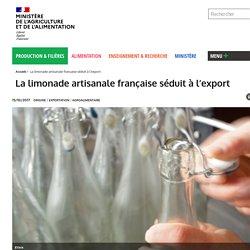 La limonade artisanale française séduit à l'export