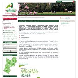 CHAMBRE D AGRICULTURE D L AQUITAINE - 2014 - Mémento de l'agriculture durable en Aquitaine