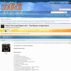 Fido's The Crop Report v2.0 - The Basics of Agriculture - New Articles & Guides - ArcheAge Source