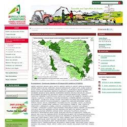 Les communes en zone vulnérable - Chambre d\'agriculture des Pyrénées-Atlantiques