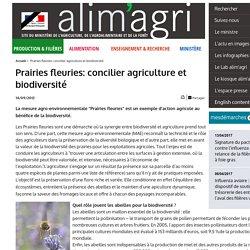 Prairies fleuries: concilier agriculture et biodiversité