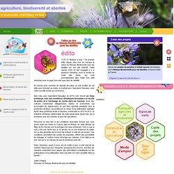 Agriculture, biodiversité et abeilles - la biodiversité, c'est l'affaire de tous