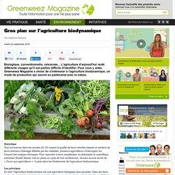 Gros plan sur l'agriculture biodynamique - Greenweez Magazine