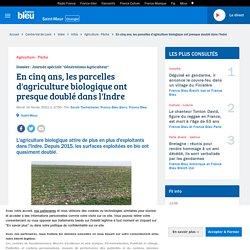 FRANCE BLEU 17/02/21 En cinq ans, les parcelles d'agriculture biologique ont presque doublé dans l'Indre