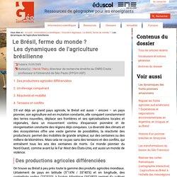 Les dynamiques de l'agriculture brésilienne