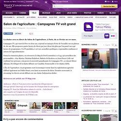 Salon de l'agriculture : Campagnes TV voit grand