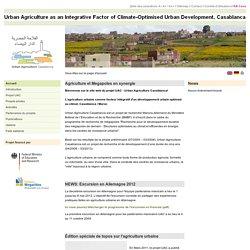 Urban Agriculture Casablanca: Accueil