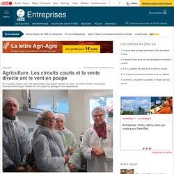 OUEST FRANCE ENTREPRIES 08/11/15 Agriculture. Les circuits courts et la vente directe ont le vent en poupe