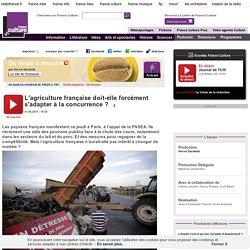 FRANCE CULTURE 01/09/15 DU GRAIN A MOUDRE - L'agriculture française doit-elle forcément s'adapter à la concurrence ?