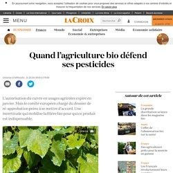 Quand l'agriculture bio défend ses pesticides