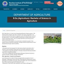 Agriculture College in Dehradun