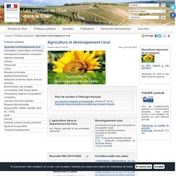 Agriculture et développement rural / Politiques publiques / Accueil - Les services de l'État dans le Cher