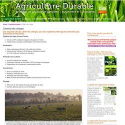 Réseau agriculture durable » Cahier(s) des charges
