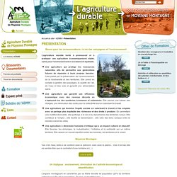 Agriculture Durable de Moyenne Montagne