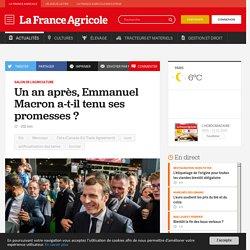 Salon de l'agriculture : Un an après, Emmanuel Macron a-t-il tenu ses promesses?