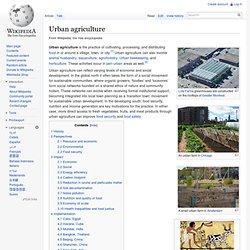 WIKIPEDIA – Urban agriculture.