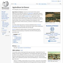 Agriculture in Greece