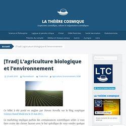 L'agriculture biologique et l'environnement – La Théière Cosmique