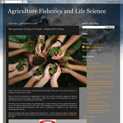 BSc Agriculture Colleges In Punjab - Dolphin(PG) College