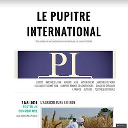 Le Pupitre International