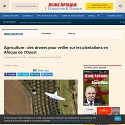 Agriculture : des drones pour veiller sur les plantations en Afrique de l'Ouest