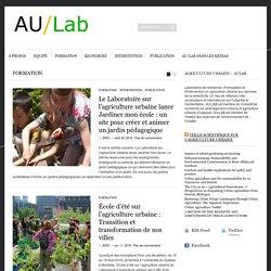 Agriculture urbaine Laboratoire