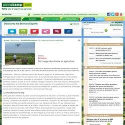 PLEINCHAMP 09/08/13 Machinisme - De l'usage des drones en agriculture