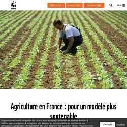 Agriculture : un modèle plus soutenable