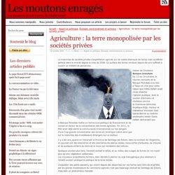 Agriculture : la terre monopolisée par les sociétés privées
