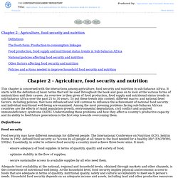 Agriculture food and nutrition for Africa - A resource book for teachers of agriculture