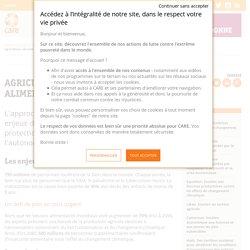 Agriculture, sécurité alimentaire et nutritionnelle