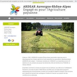 Agriculture paysanne - ARDEAR Auvergne-Rhône-Alpes
