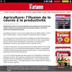 Agriculture: l'illusion de la course à la productivité