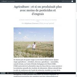 Agriculture : et si on produisait plus avec moins de pesticides et d'engrais