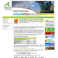 ..: CRA Midi-Pyrénées [La Formation Professionnelle Continue en agriculture en 2010] :..