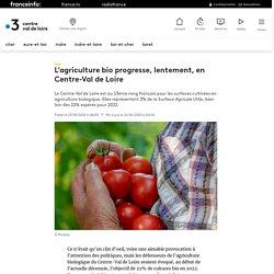 FRANCE 3 13/06/19 L'agriculture bio progresse, lentement, en Centre-Val de Loire