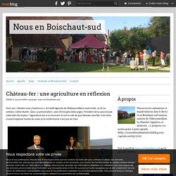 Château-fer : une agriculture en réflexion - Nous en Boischaut-sud