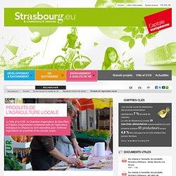 STRASBOURG_EU - 2013 - Produits de l'agriculture locale