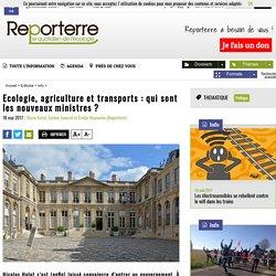 Ecologie, agriculture et transports: qui sont les nouveaux ministres?