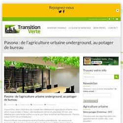 Pasona : de l'agriculture urbaine underground, au potager de bureau