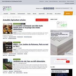 Green et vert : Agriculture urbaine