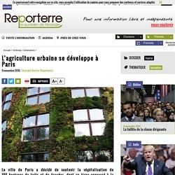 L'agriculture urbaine se développe à Paris