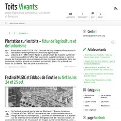 Agriculture urbaine ← Toits Vivants