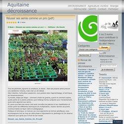 Agriculture vivrière